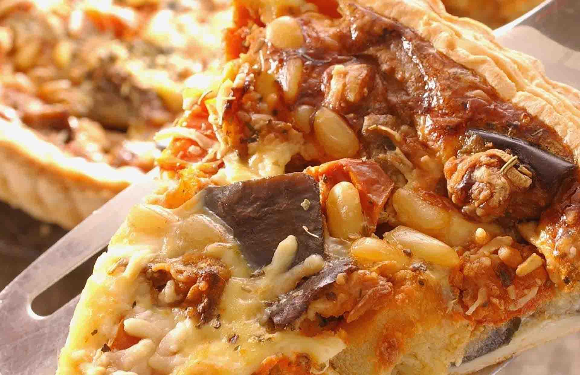 Ratatouille de Courgettes et sa variante en tarte